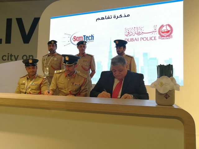 SamTech provided Dubai Police with Smart Impounding System
