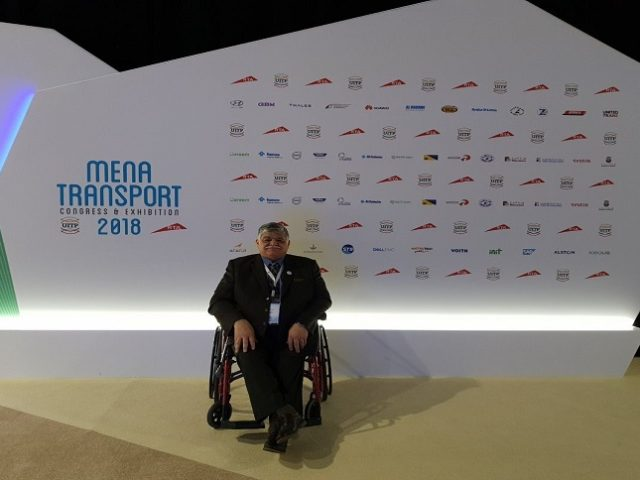 SamTech collaborated with Dell EMC at MENA Transport Exhibition